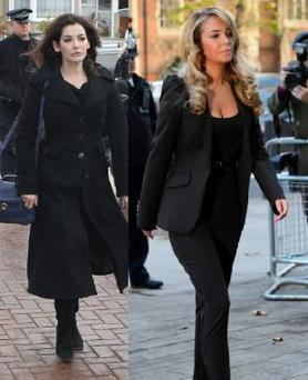 Singer Tulisa channelled Nigella's clean-cut style for her court appearance.