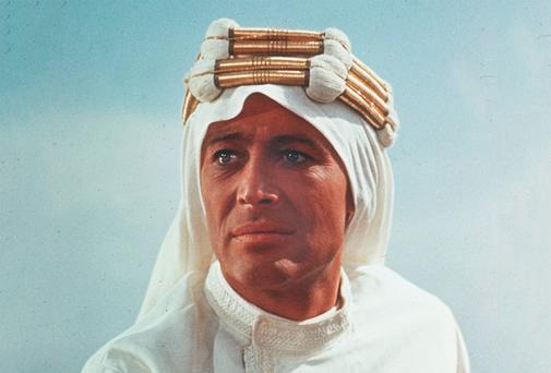 Hellraiser: Peter O'Toole in 'Lawrence of Arabia'