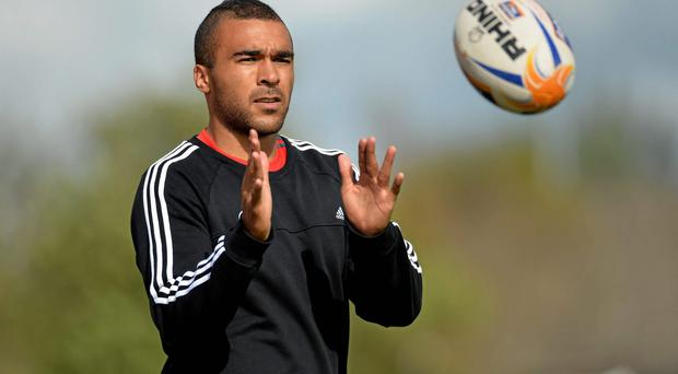 Simon Zebo would get my vote for the No.11 Irish jersey