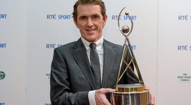 21 December 2013; Jockey Tony McCoy who was nominated for sports person of the year, in attendance at the RTÉ Sports Awards 2013. RTÉ Studios, Donnybrook, Dublin. Picture credit: Paul Mohan / SPORTSFILE