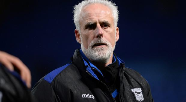 Manager Mick McCarthy of Ipswich Town