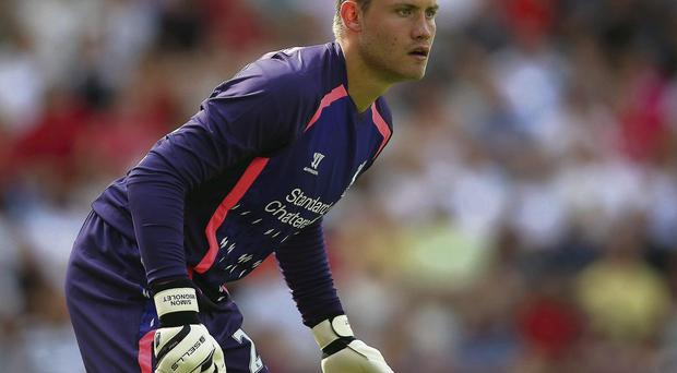 Liverpool keeper Simon Mignolet