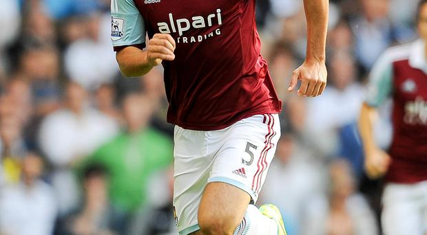West Ham defender James Tomkins