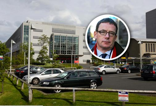 St Vincent's Hospital and, inset, Group chief executive, Nicholas Jermyn.