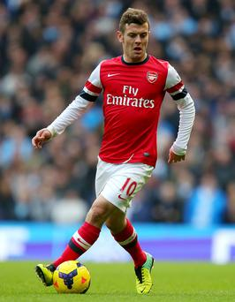 Arsenal midfielder Jack Whilshere. Photo: PA