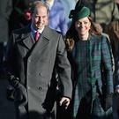 Prince William and Kate Middleton arrive for the Christmas Day service at Sandringham on December 25, 2013 in King's Lynn, England. (Photo by Chris Jackson/Getty Images)