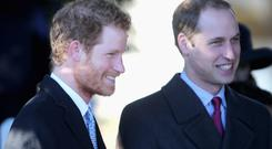 Prince William, Duke of Cambridge and Prince Harry