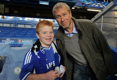 Oran Tully from Skerries got to meet the team, manager and owner at Chelsea.