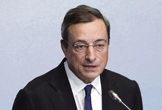 ECB President Mario Draghi: English the working language of new banking regime