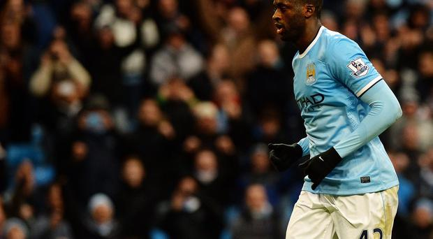 Yaya Toure has warned league leaders Liverpool they should fear a St Stephen's Day trip to the Etihad Stadium