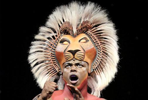 Mane event: The Lion King was a rip-roaring success: Photo: Dean Van Mee