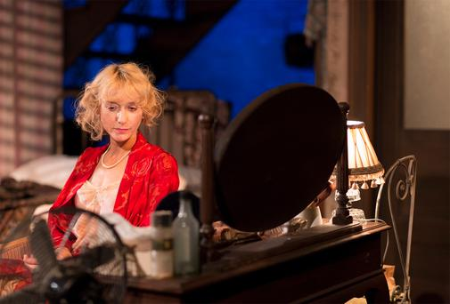 Lia Williams in 'A Streetcar Named Desire'. Photo: Peter Rowen