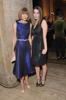 Editor-in-chief of American Vogue Anna Wintour and Bee Shaffer
