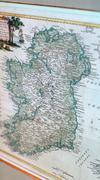 A general view of an old map of Ireland