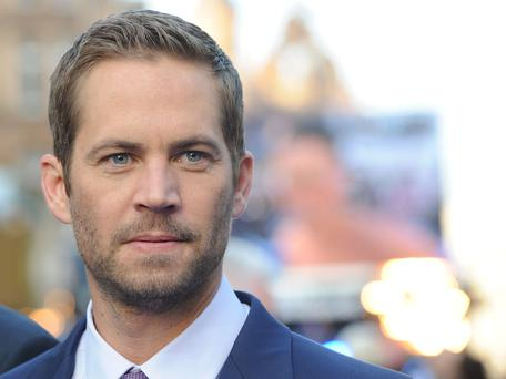 Actor Paul Walker, aged 40