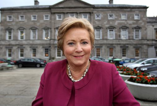 Frances Fitzgerald,TD, the Minister for Children. Photo: Tom Burke