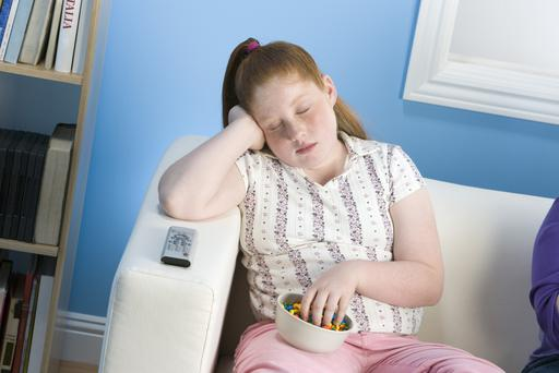 Children's poor diet is causing health problems