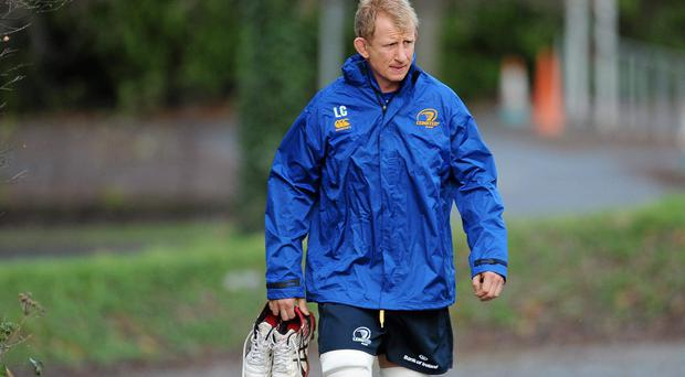 Veteran Leo Cullen will lead the Leinster line against Ulster tonight