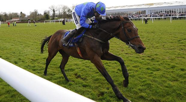 Ruby Walsh riding Hurricane Fly back in April