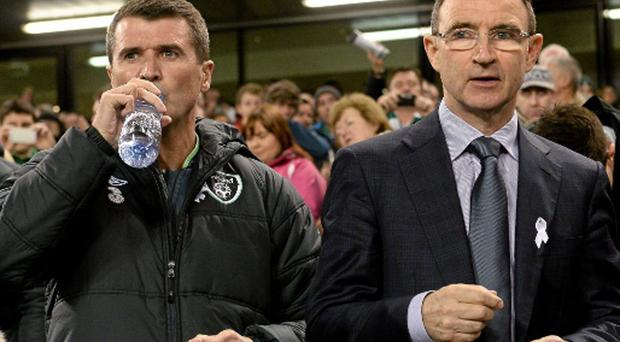 Irish manager Martin O'Neill will travel to Watford but his assistant, Roy Keane, may have a wasted journey to Hull if David Meyler fails to recover from a knee injury