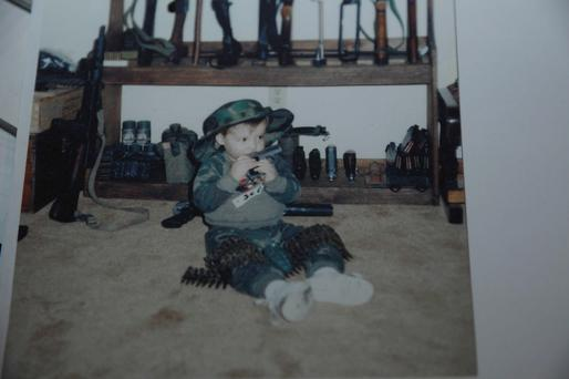 The chilling picture released as part of the final police report into the Sandy Hook massacre