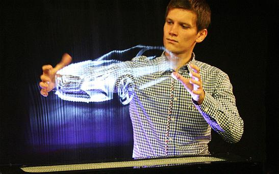 The Leia display system is set to make holographic video calls a reality in 2014