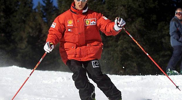 Seven-time Formula One world champion Michael Schumacher is reported to have suffered a serious head injury while skiing in the French Alps