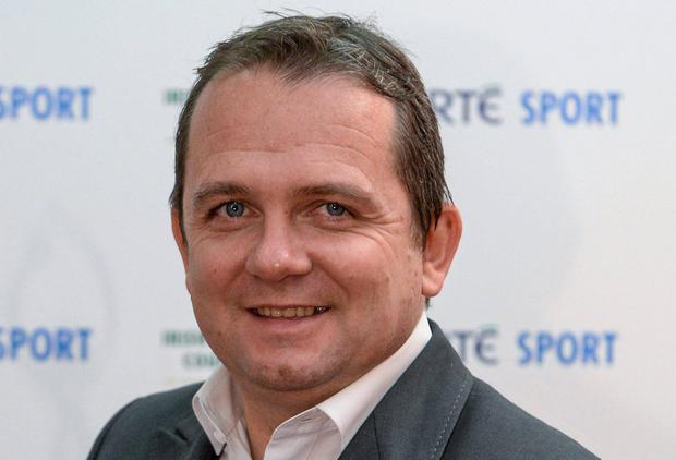 Clare hurling manager Davy Fitzgerald