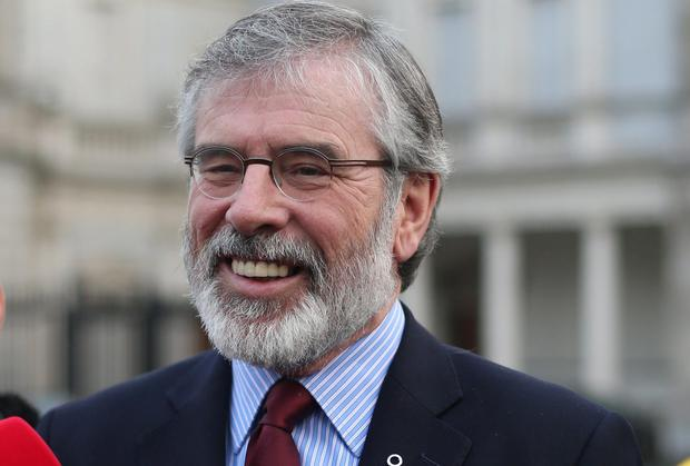 FOLKSY: Gerry Adams uses Twitter to discuss his housework and his talking teddy bears.