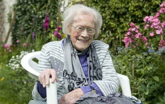 Longford native Margaret Mitchell, who died aged 107 over Christmas