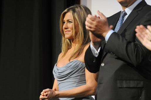 Actress/producer Jennifer Aniston attends the