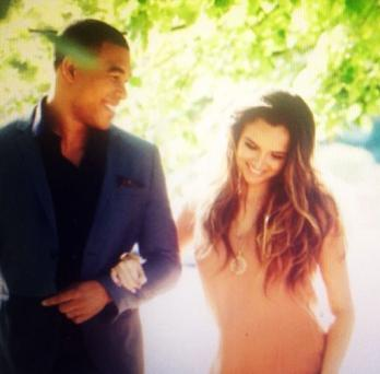 In an interview in October, the singer confirmed she was back with her ex-fiance American football player Jason Bell and that he was the father of their child. (Instagram/Nadine Coyle)