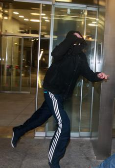 James Reid accused of producing a knife. Picture: Collins Courts