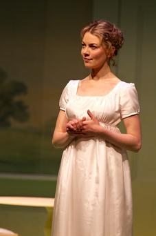 Star role: Lorna Quinn as Elizabeth Bennet in 'Pride and Prejudice'. PAT REDMOND