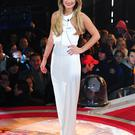 Sam Faiers arriving at the start of Celebrity Big Brother 2014 at the Big Brother House