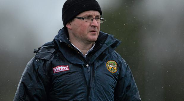 Emmett McDonnell is demanding a big performance from Offaly