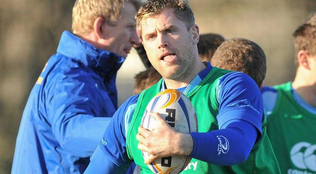 Jamie Heaslip's return to the starting XV is a signal of Leinster's intent