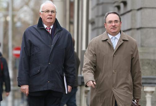 National Asset Management Agency Chief Executive, Brendan McDonagh [right] and Chariman Frank Daly pictured. Picture Frank Mc Grath