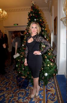 Kathryn Thomas at the RESPECT Christmas Variety Lunch