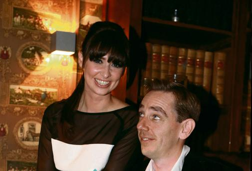 Aoibhinn with partner Ryan Tubridy