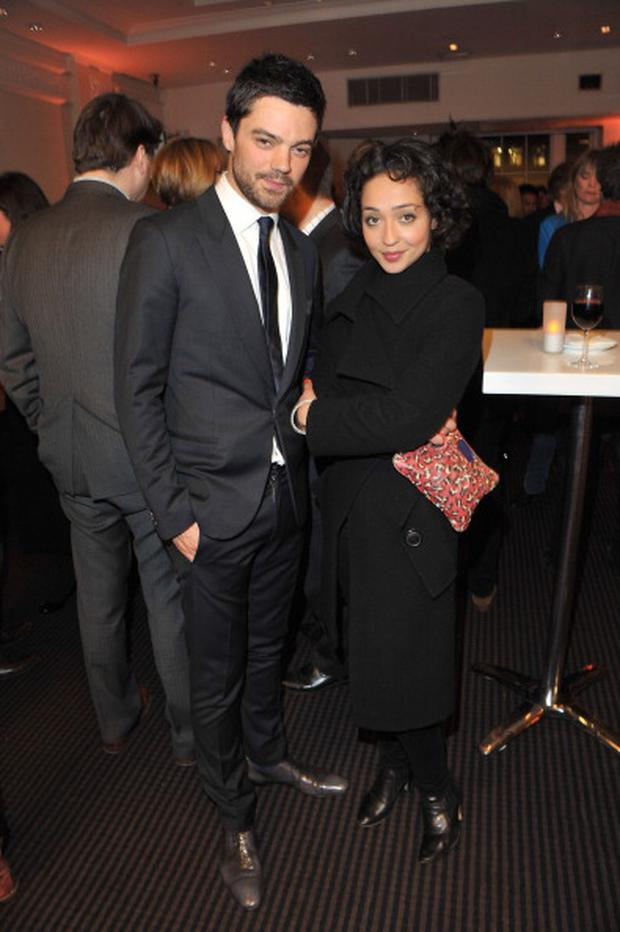LONDON, UNITED KINGDOM - MARCH 16: Dominic Cooper and Ruth Negga attend private screening of Pad Yatra: A Green Odyssey at BAFTA on March 16, 2012 in London, England. (Photo by Jon Furniss/WireImage)