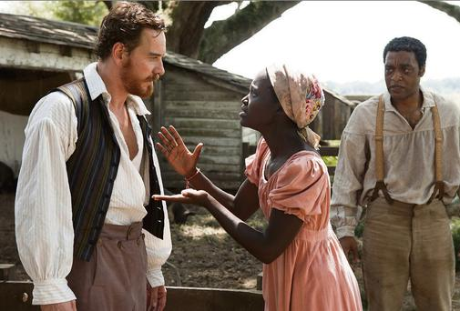 HARROWING: Michael Fassbender plays a plantation owner in '12 Years a Slave'
