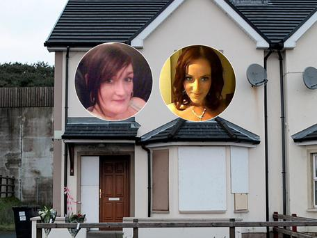 The house at Ceannan View in Letterkenny where a fire resulted in the deaths of Anngelina and Jody Brogan