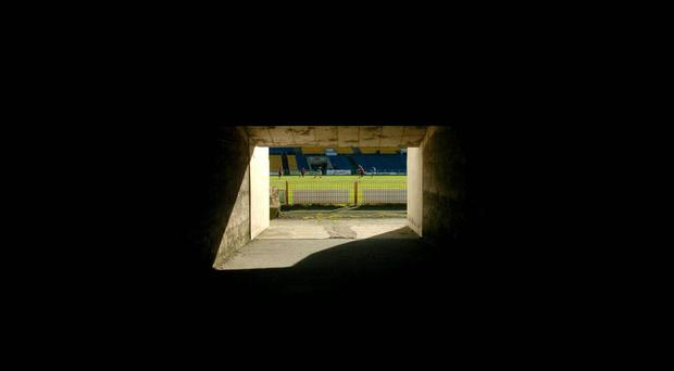 A view from the tunnel, Semple Stadium, Tipperary