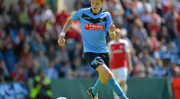 Paul Corry is one of the new breed of League of Ireland transfers