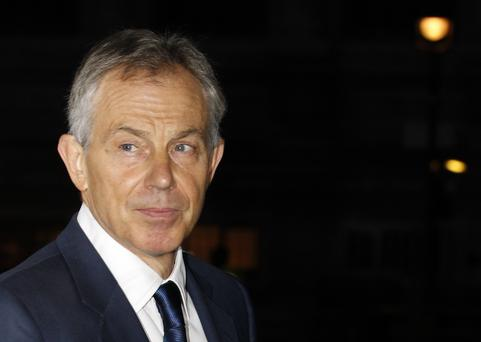 Former British Prime Minister Tony Blair who enjoyed a 'bumper year'. Photo: Reuters