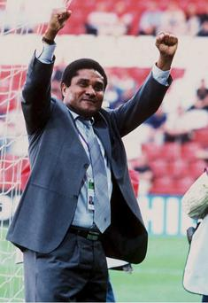 Portuguese football legend Eusebio, top scorer at the 1966 World Cup, has died at the age of 71 after reportedly suffering cardiac failure