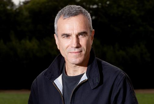 Daniel Day-Lewis, Patron of the Wicklow hospice foundation pictured at site of for the new hospice. Photo:Mark Condren