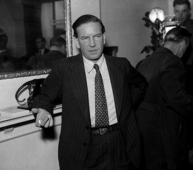 Kim Philby, pictured in 1955 at the British Embassy in Washington. Photo: PA.