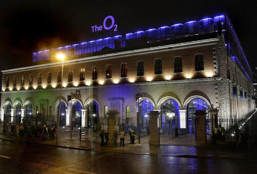 A general view of the O2 in Dublin. Photo: Niall Carson/PA